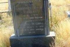 Botes, Johannes Andreas born 10 June 1870 died aged 89 years + Martha Hendrina nee De Bruyn born 03 October 1886 died aged 81 years