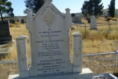 Broodryk, David S died 16 October 1918 aged 41 yrs 10 months + Catharina Joose vorheen Broodryk geb Van Schalkwylk born 28 Dec 1882 died 21 September 1969