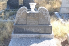 Broodryk, Hester Magaretha born 23 January 1889 died 17 February 1962