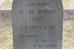 Bowman, Elton (Tony)