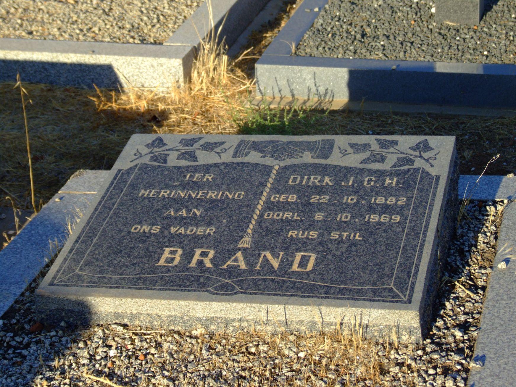 Brand, Dirk J. G. H.