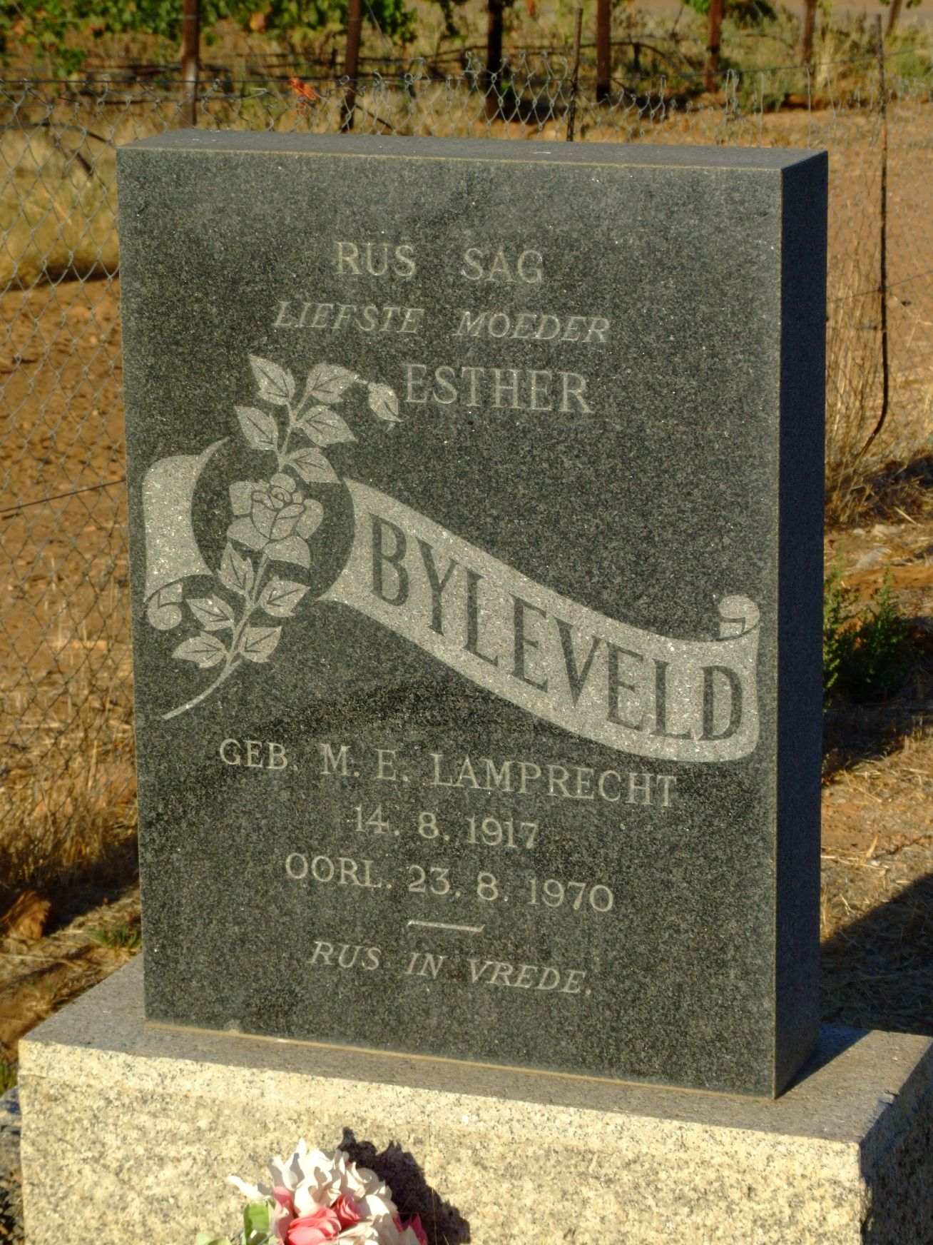 Byleveld, Esther (nee M. E. Lamprecht)
