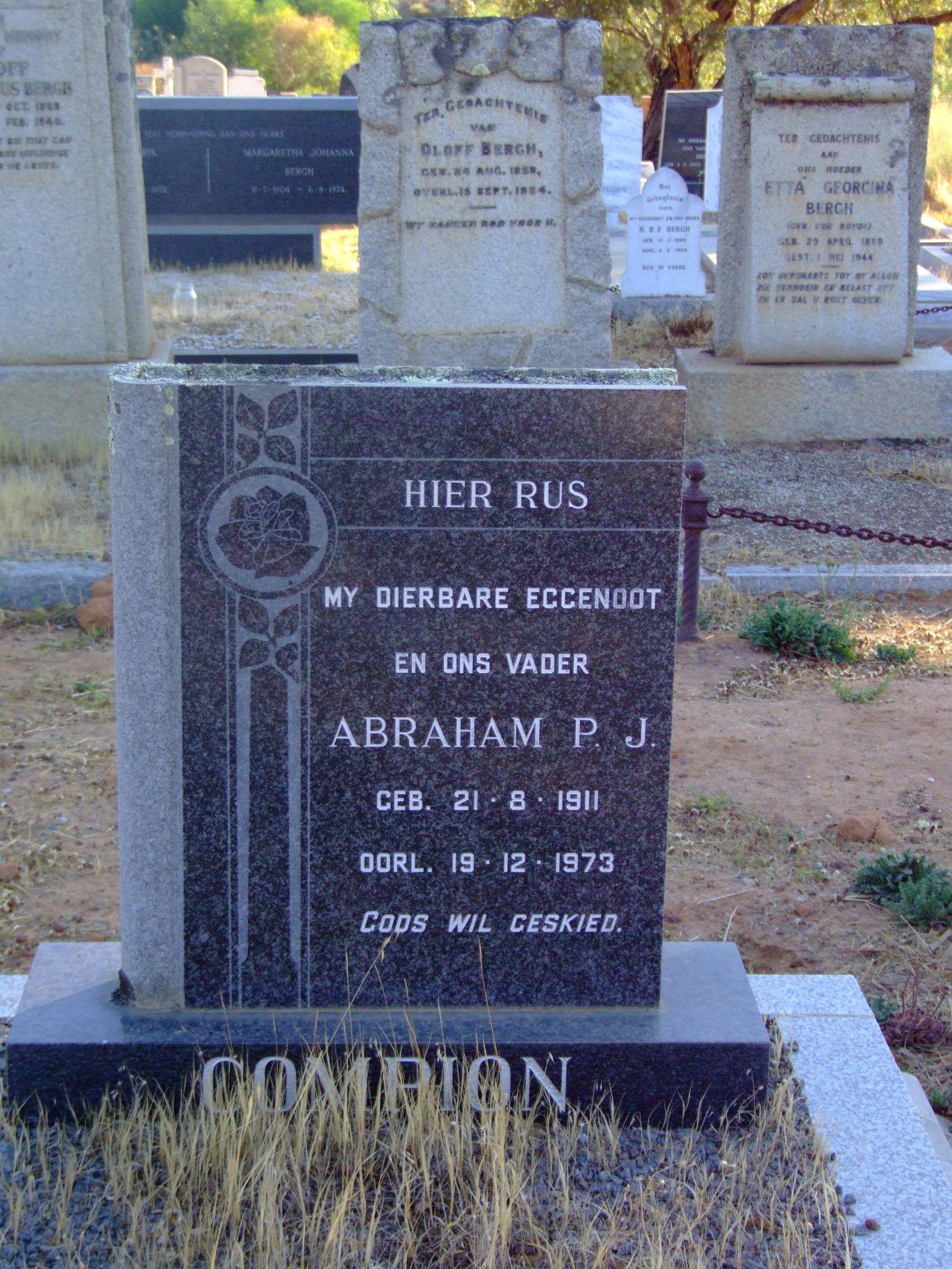 Compion, Abraham P J