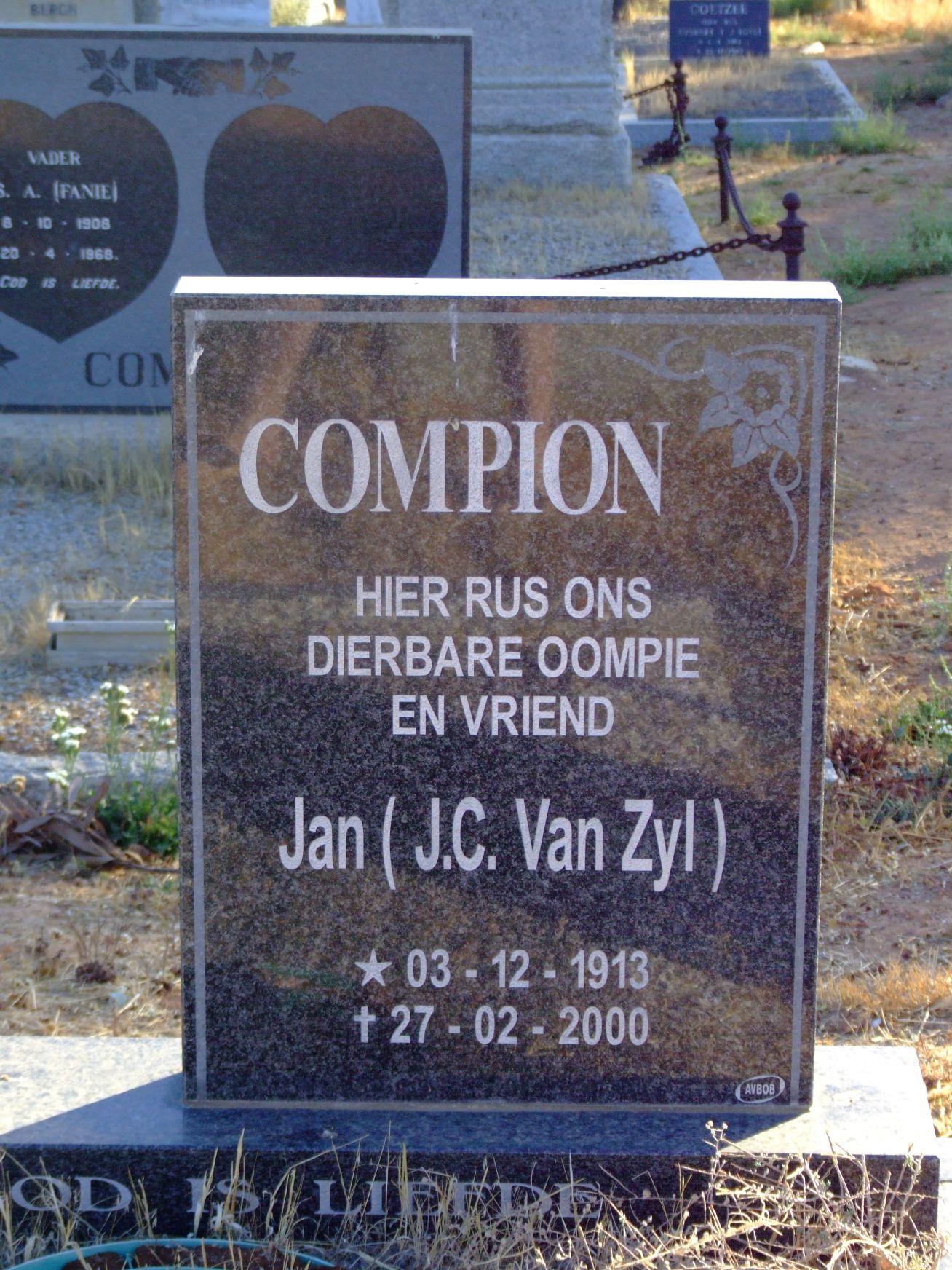 Compion, Jan