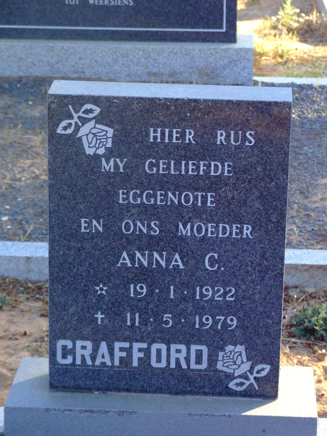 Crafford, Anna C