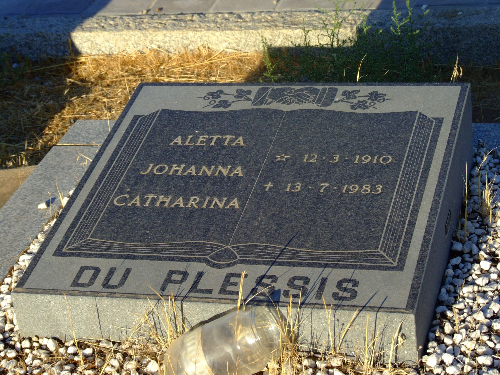 Du Plessis, Aletta Johanna Catharina