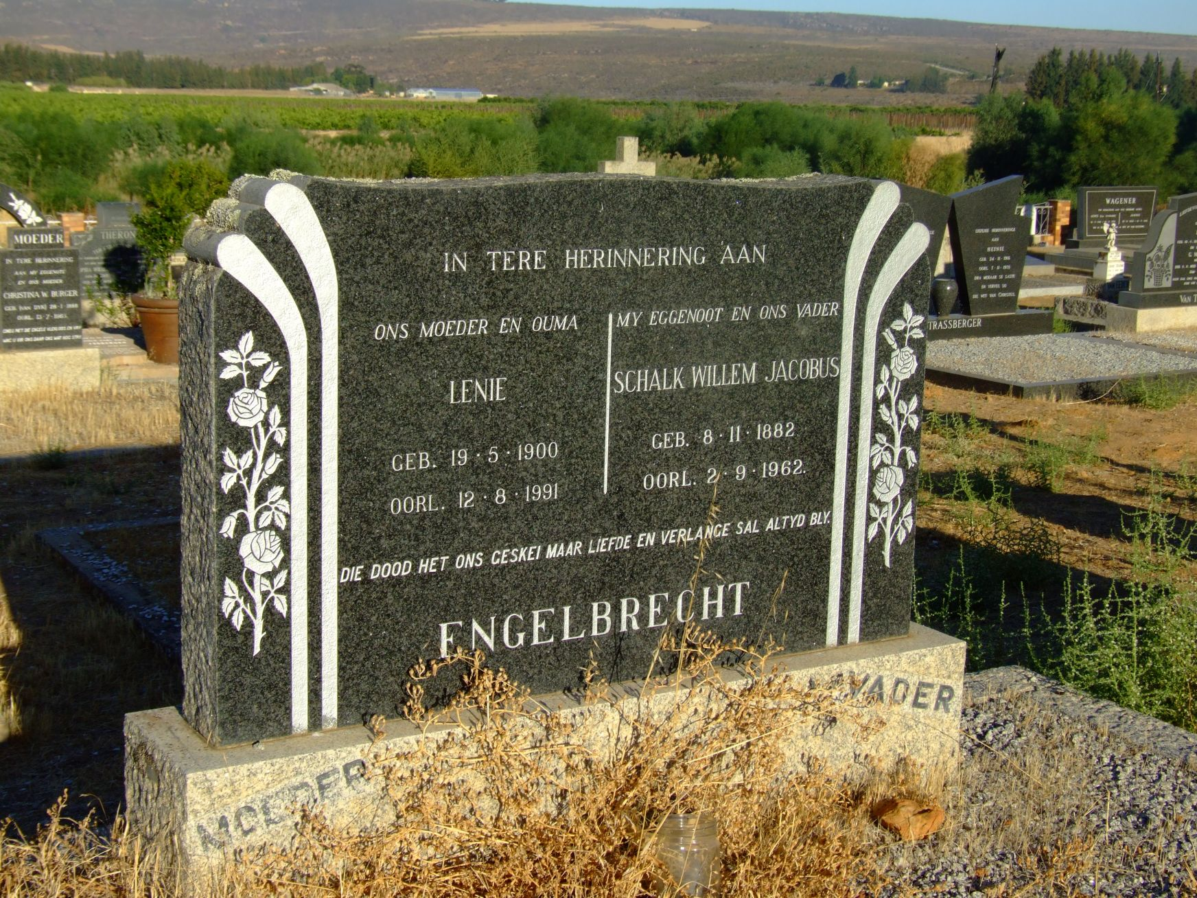 Engelbrecht, Lenie and Engelbrecht, Schalk Willem Jacobus
