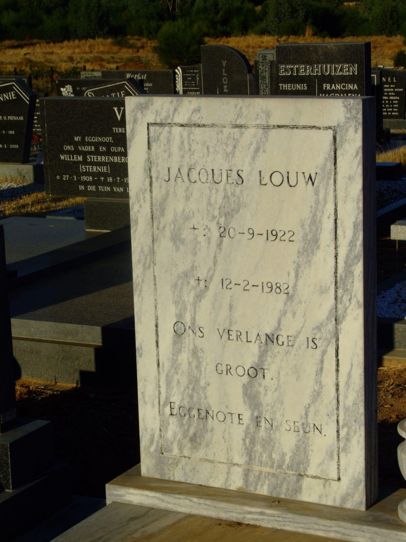 Louw, Jacques
