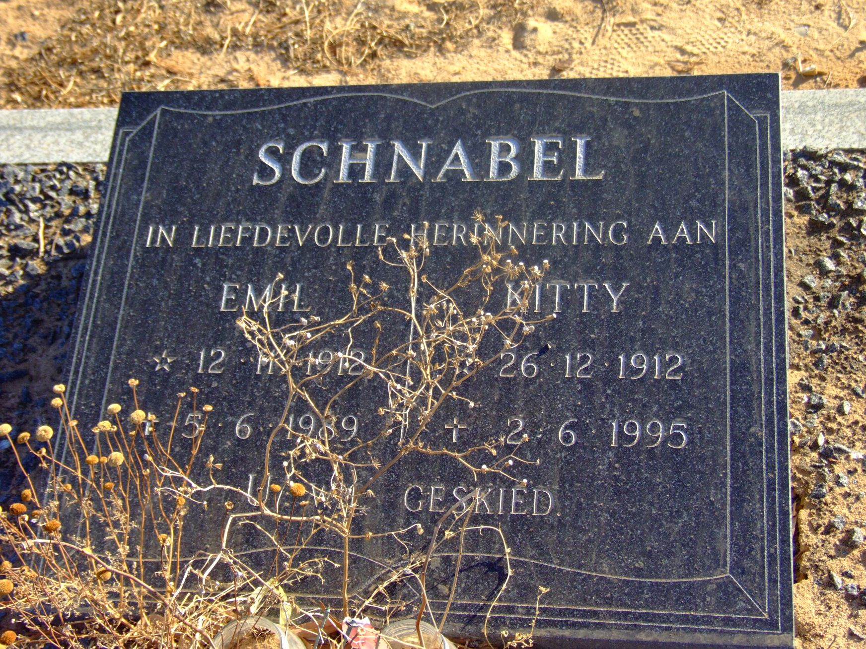 Schnable, Emil + Schnabel, Kitty