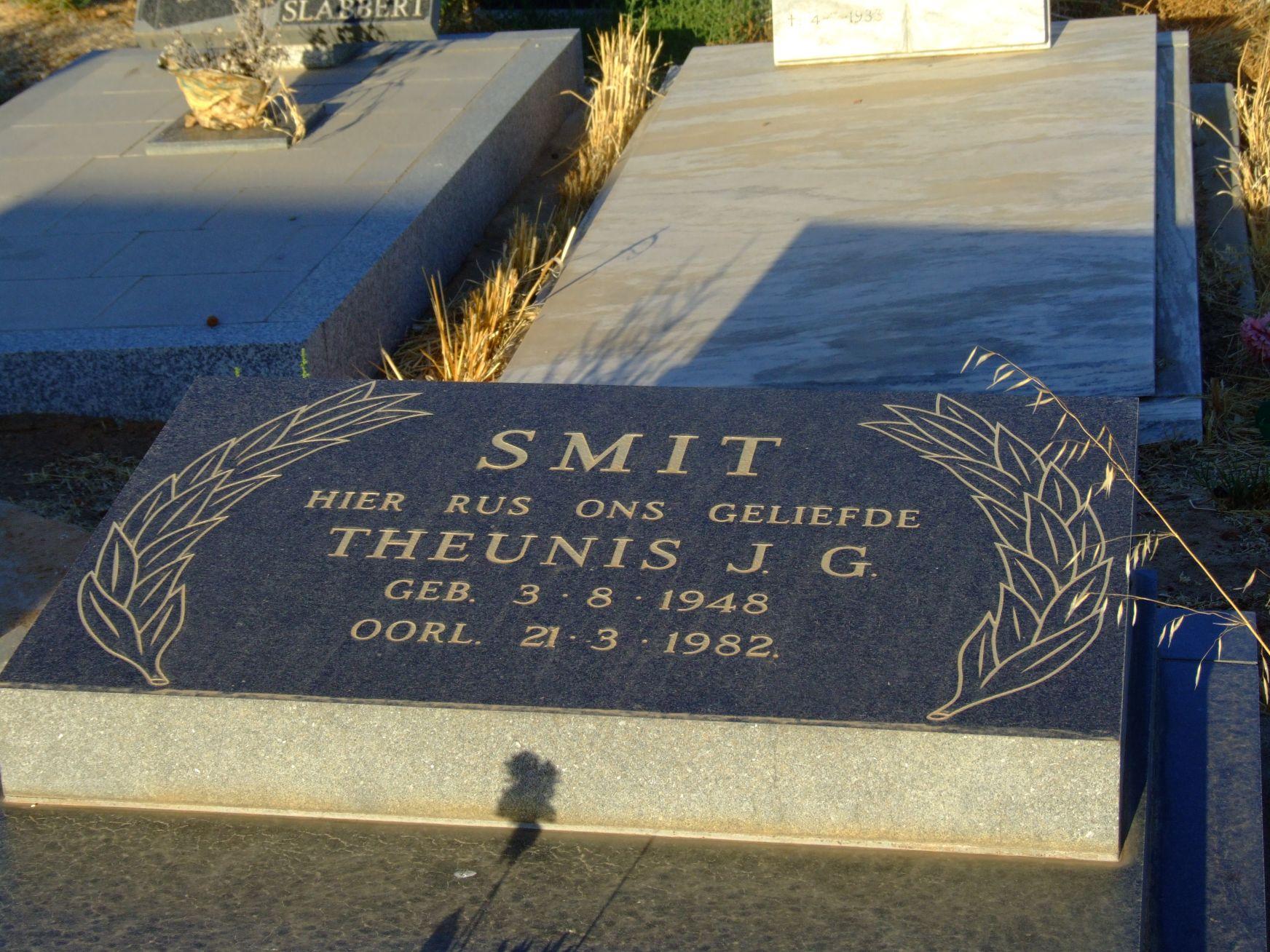 Smit, Theunis J. G.