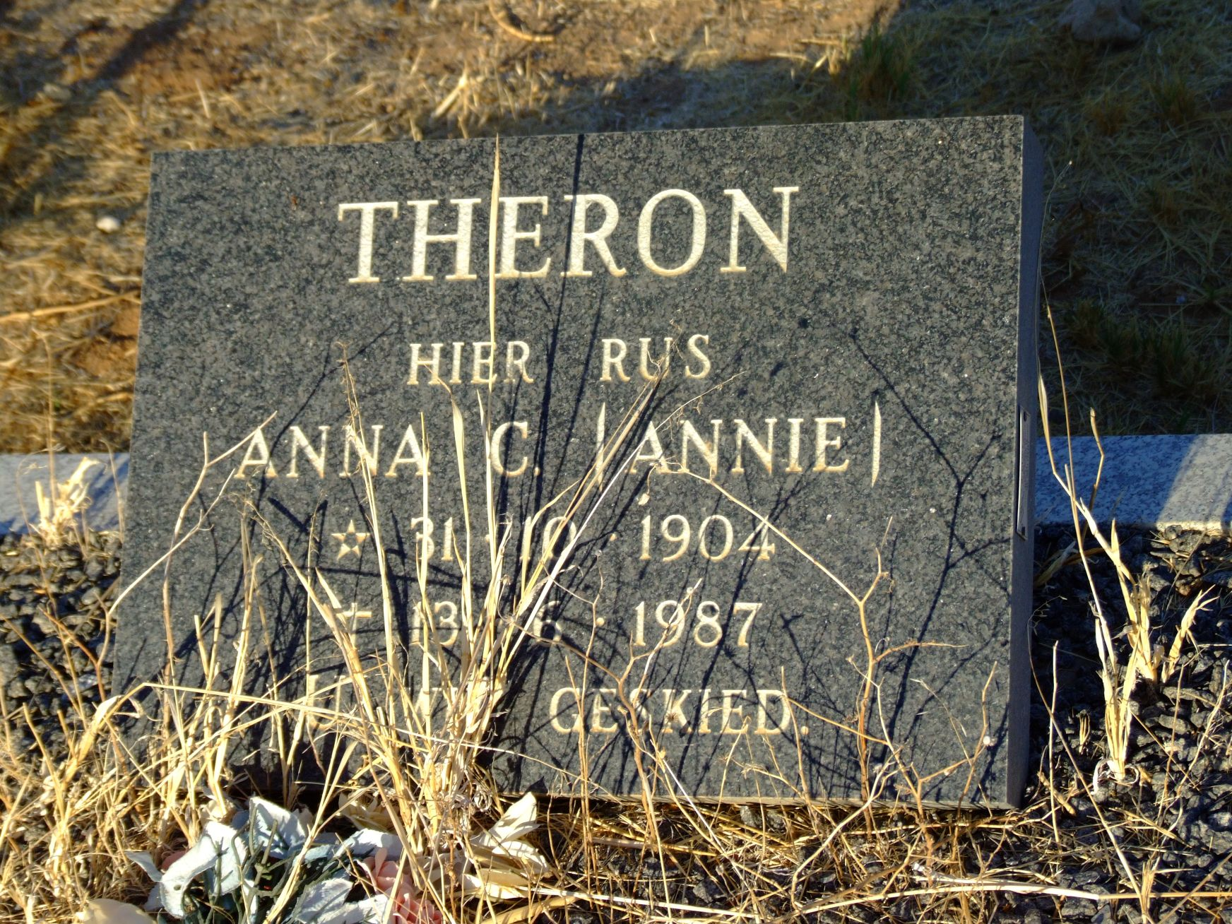 Theron, Anna C