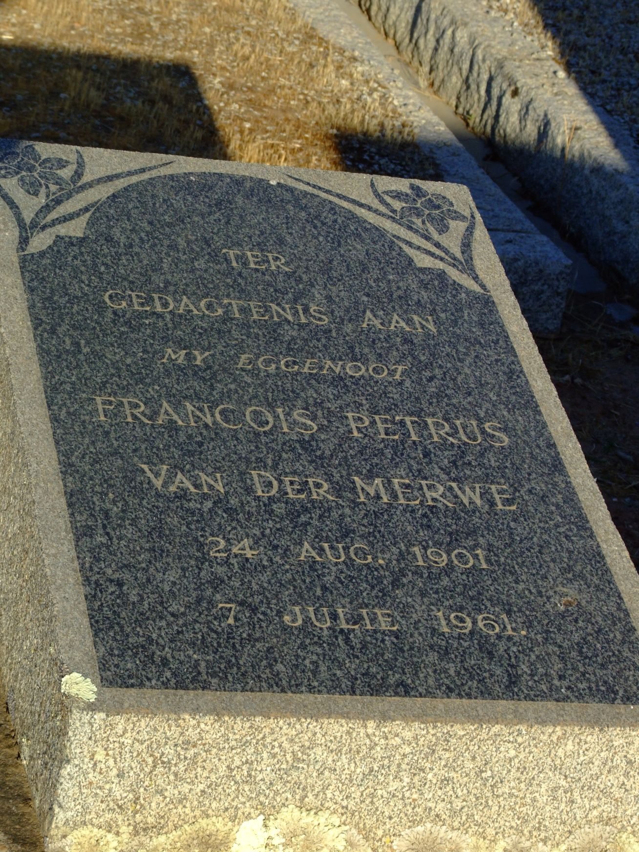 Van Der Merwe, Francois Petrus