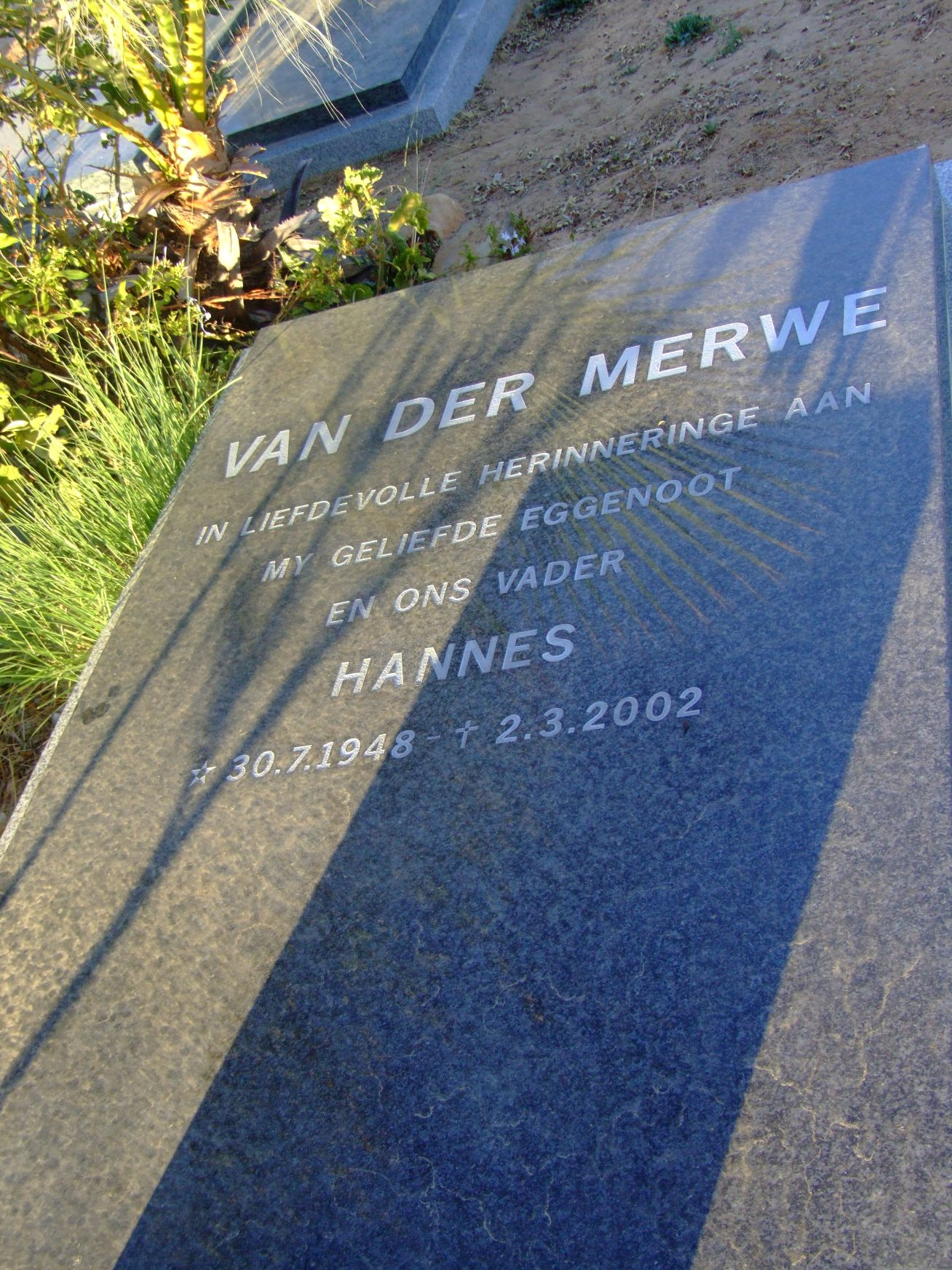 van der Merwe, Hannes