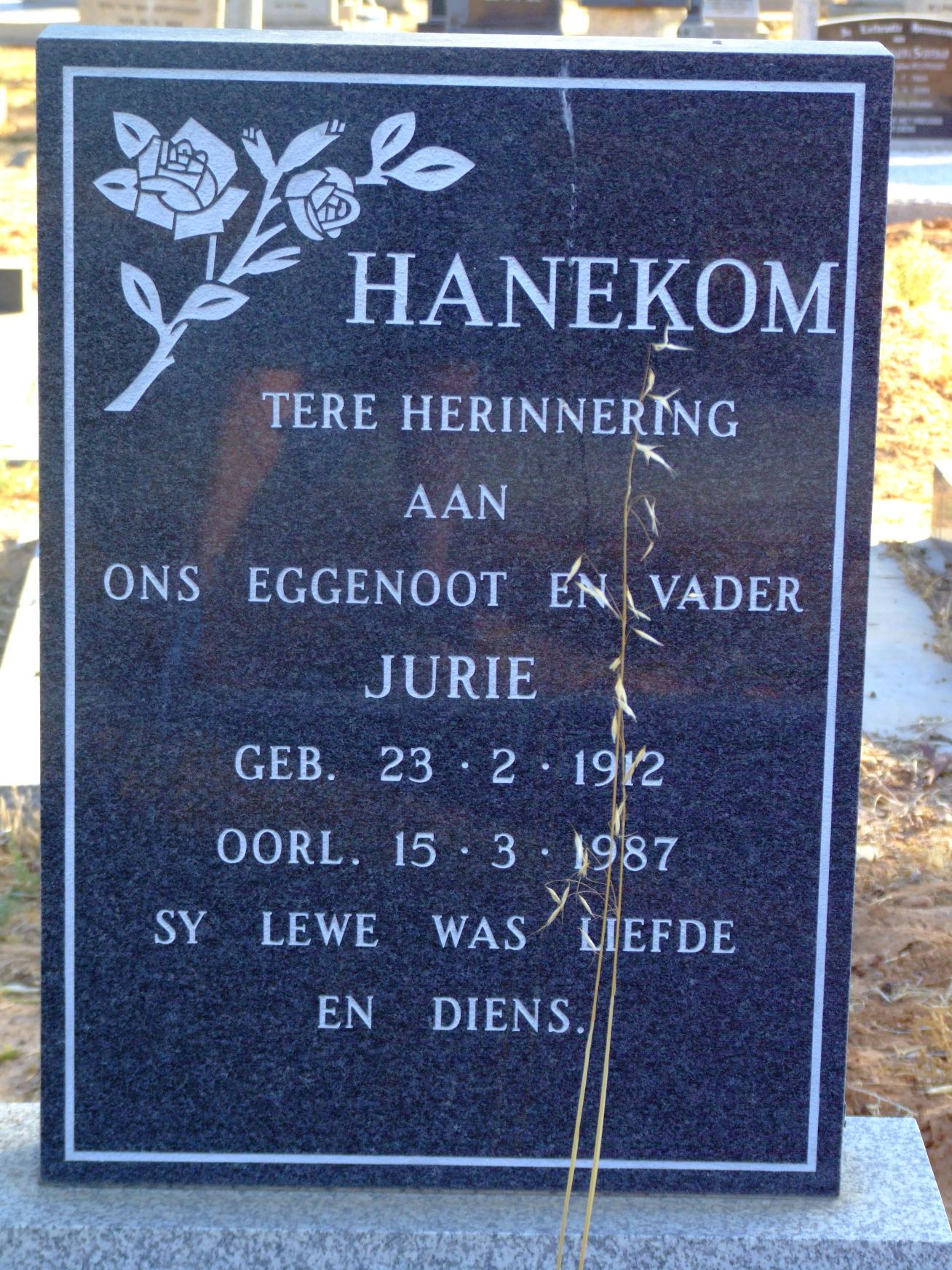 Hanekom Jurie