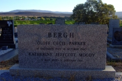 Bergh, Oloff Cecil Parker + Moody, Katherine Jeffcott