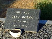 Botha, Gert