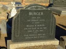 Burger, Helena W (nee van Taak)