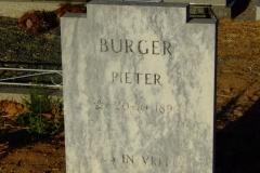 Burger, Pieter
