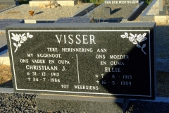 Visser , Christiaan J and Visser, Ellie