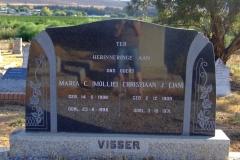 Visser, Maria C + Visser, Christiaan J