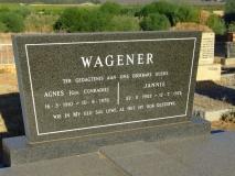 Wagener, Agnes + Wagener, Jannie