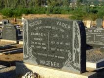 Wagener, Johanna E.H. + Wagener, Carl C.P.