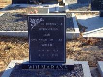 Wolmarans, Wollie