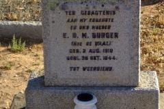 Burger, E. D. M.