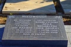 Nieuwoudt, Jan Harmse + Nieuwoudt, Heila Magdalena