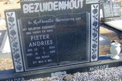 Bezuidenhout, Pieter Andries