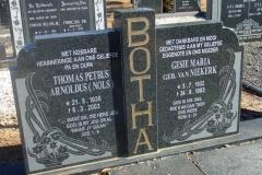 Botha, Thomas Petrus Arnoldus + Gesie Maria nee Van Niekerk
