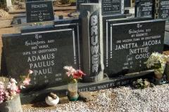 Bruwer, Adamus Paulus + Janetta Jacoba nee Gous