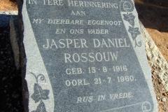 Rossouw, Jasper Daniel born 15 August 1916 died 21 July 1960