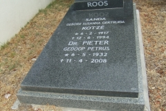 Cemetery Kleinmond 001