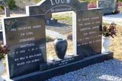 Louw, Johannes Matthys + Christina Jacoba