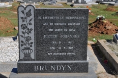Brundryn, Pieter Johannes born 21 January 1911 died 19 July 1967