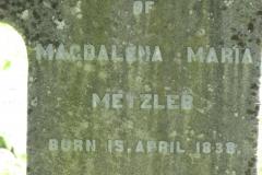Metzler, Magdalena Maria