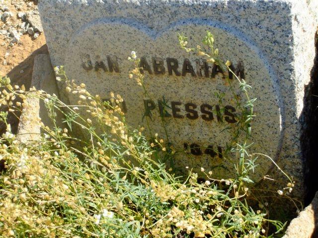 Du Plessis, Jan Abraham born 1841