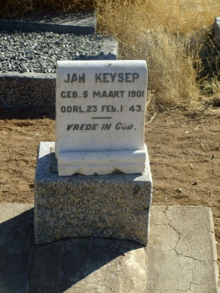 Keyser, Jan born 05 March 1901 died 23 February 1943