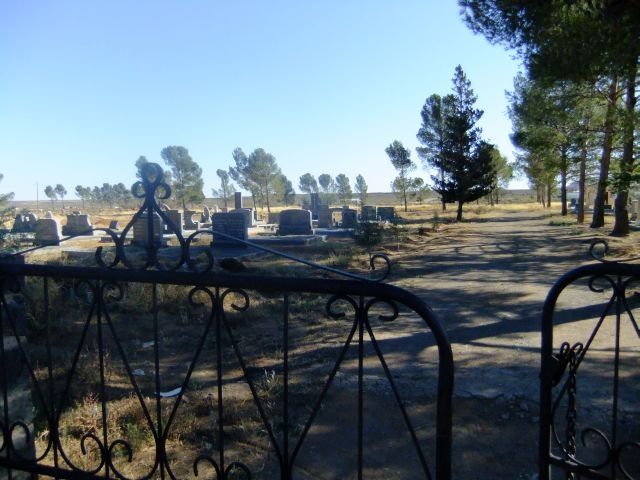 Loxton Cemetery Entrance