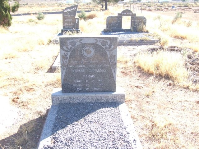 Marais, Wynand Johannes Marais born 09 March 1887 died 22 November 1967