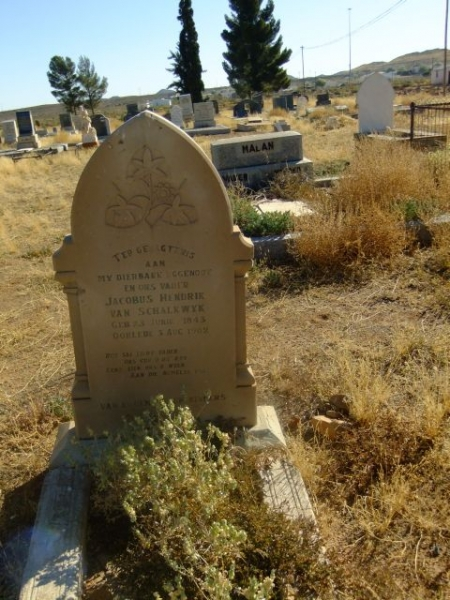 Van Schalkwyk, Jacobus Hendrik born 23 June 1843 died 03 August 1902