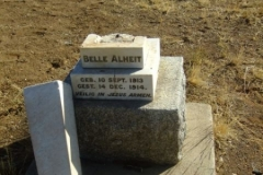 Alheit, Belle born 10 September 1913 died 14 December 1914