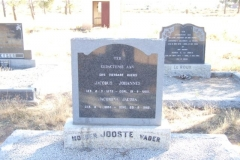 Jooste, Jacobus Johannes born 08 March 1879 died 19 September 1960 + Jacomina Jacoba born 08 Janaury 1884 died 28 August 1962