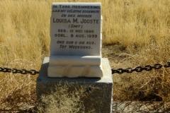 Jooste, Louisa M nee Smit born 10 May 1890 died 08 August 1933