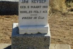 Keyser, Jan born 05 March 1901 died 23 February 1943