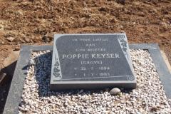 Keyser, Poppie nee Grove born 22 July 1894 died 01 July 1983