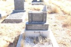 Klue, Wiltich born 23 October 1939 died 14 July 1955