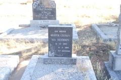 Van Heerden, Hester Cecilia born 15 October 1897 died 08 February 1960