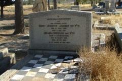 Van Wyk, Gerrit Johannes Jacobus born 03 January 1853 died 03 December 1918 + Johanna Carolina nee Van der Westhuizen born 23 March 1853 died 22 May 1922